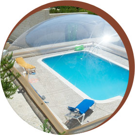 Poolabri abris piscine gonflables for Abri de piscine bulle