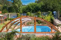 Poolabri abri piscine en kit telescopique for Tarif piscine en kit
