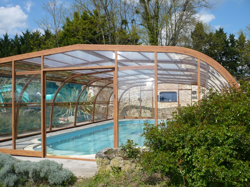 Poolabri abri piscine haut bois for Abri de piscine