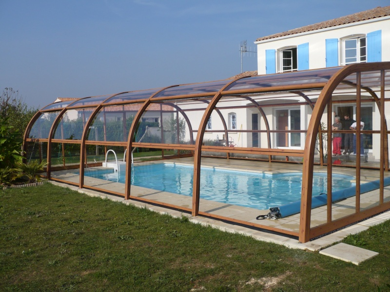 Poolabri abri piscine haut bois for Piscine en bois d occasion