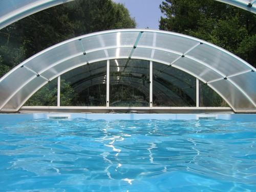 Poolabri abri piscine en kit telescopique - Piscine creusee en kit ...
