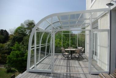 pin abri de terrasse alu on pinterest. Black Bedroom Furniture Sets. Home Design Ideas